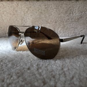 Kenneth Cole Reaction Mens Gold Sunglasses